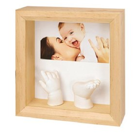 Отпечаток Baby Art PHOTO SCULTURE FRAME NATURAL